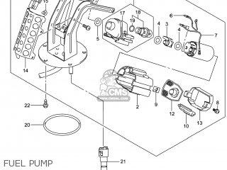 Suzuki Gw250 Inazuma 2014 l4 Usa e03 Fuel Pump