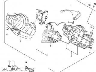Suzuki Gw250 Inazuma 2014 l4 Usa e03 Speedometer