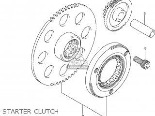 Suzuki Gw250 Inazuma 2014 l4 Usa e03 Starter Clutch