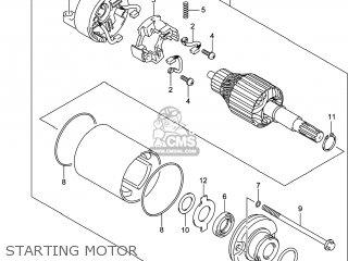 Suzuki Gw250 Inazuma 2014 l4 Usa e03 Starting Motor