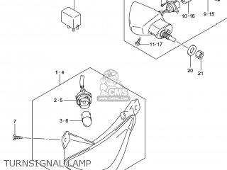 Suzuki Gw250 Inazuma 2014 l4 Usa e03 Turnsignal Lamp