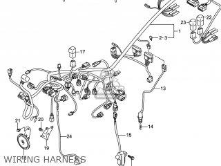 Suzuki Gw250 Inazuma 2014 l4 Usa e03 Wiring Harness