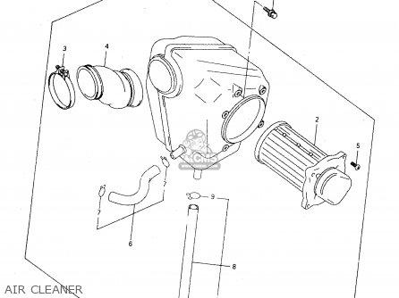 2005 suzuki ozark 250 parts diagram