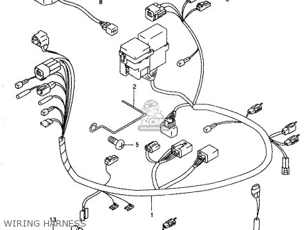 suzuki gz250 2000 y parts list partsmanual partsfiche. Black Bedroom Furniture Sets. Home Design Ideas
