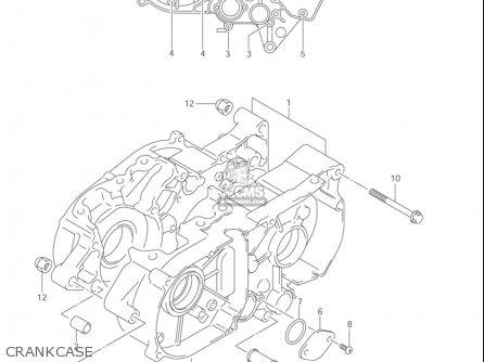 Suzuki Jr80 2001-2004 usa Crankcase