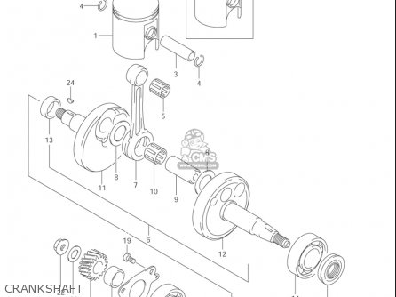 Suzuki Jr80 2001-2004 usa Crankshaft