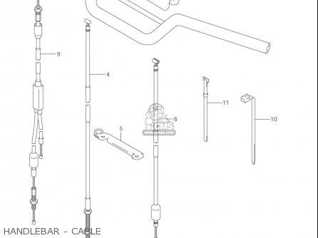 Suzuki Jr80 2001-2004 usa Handlebar - Cable