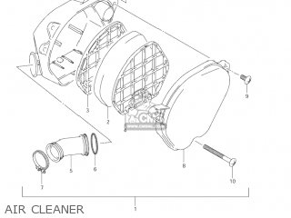 Suzuki Jr80 2001 k1 Usa e03 Air Cleaner
