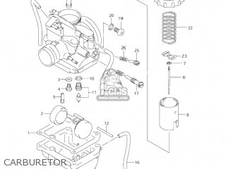 Suzuki Jr80 2001 k1 Usa e03 Carburetor
