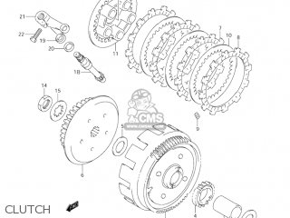 Suzuki Jr80 2001 k1 Usa e03 Clutch