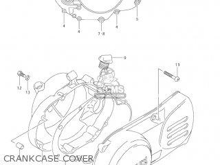Suzuki Jr80 2001 k1 Usa e03 Crankcase Cover