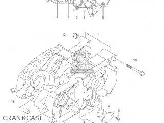 Suzuki Jr80 2001 k1 Usa e03 Crankcase