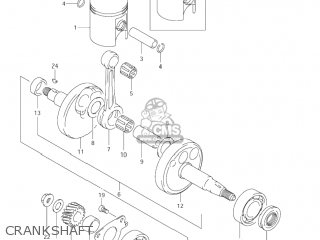Suzuki Jr80 2001 k1 Usa e03 Crankshaft