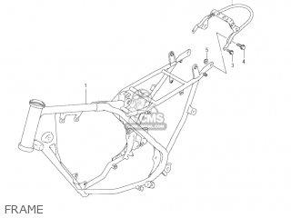 Suzuki Jr80 2001 k1 Usa e03 Frame