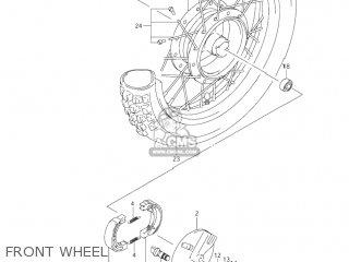Suzuki Jr80 2001 k1 Usa e03 Front Wheel