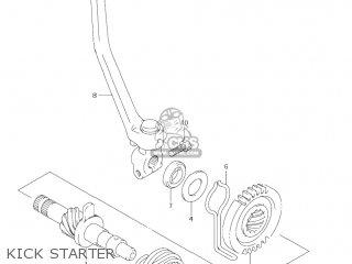 Suzuki Jr80 2001 k1 Usa e03 Kick Starter