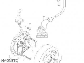 Suzuki Jr80 2001 k1 Usa e03 Magneto