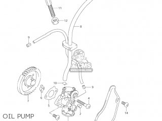 Suzuki Jr80 2001 k1 Usa e03 Oil Pump