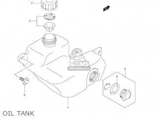 Suzuki Jr80 2001 k1 Usa e03 Oil Tank