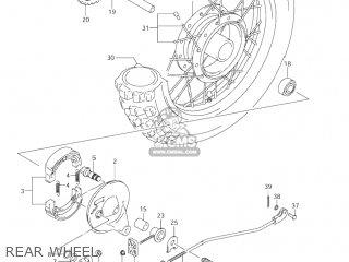 Suzuki Jr80 2001 k1 Usa e03 Rear Wheel