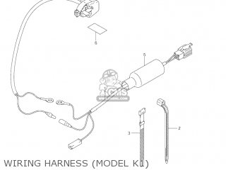 Suzuki Jr80 2001 k1 Usa e03 Wiring Harness model K1