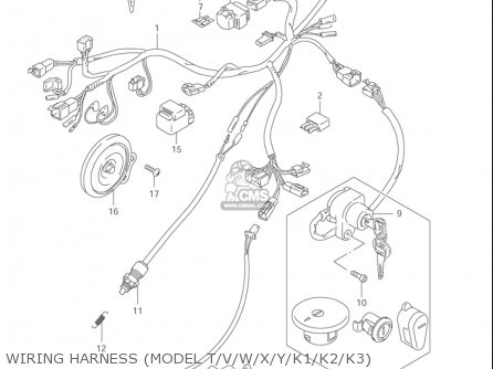 Wiring Diagram Suzuki Savage 650