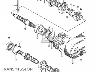 Suzuki LS650 SAVAGE 1986 (G) USA (E03) parts lists and ...
