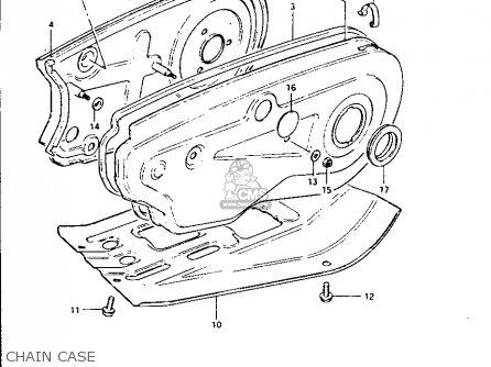 Suzuki Lt-125 1984 e Chain Case