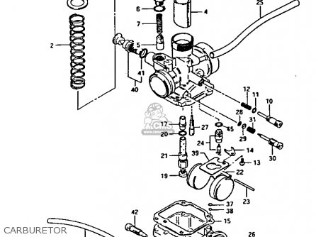 suzuki lt 125 1985 f parts list partsmanual partsfiche. Black Bedroom Furniture Sets. Home Design Ideas