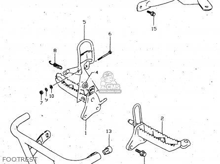 Suzuki 250 Quadrunner 4x4 Wiring Diagram together with Suzuki Lt160 Wiring Diagram additionally 160 Atv Oem Parts 1989 Suzuki Lt160e Quadsport Atv Parts additionally Suzuki Ozark 250 Wiring Diagram together with 2000 Suzuki Quadrunner Wiring Diagram. on suzuki quadrunner 160 parts diagram
