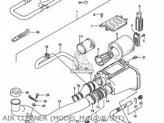 Suzuki LT-F250 QUAD RUNNER 1991 (M) USA (E03) QUADRUNNER QUAD-RUNNER