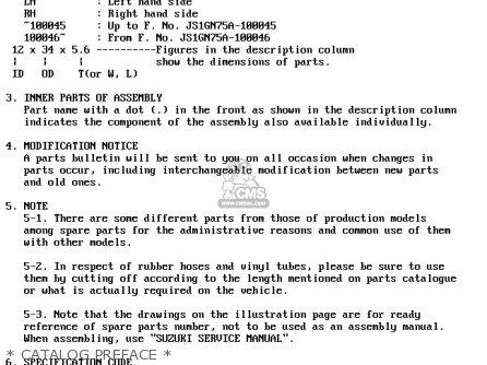 Suzuki Lt-f4 1991 wdm   Catalog Preface