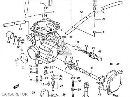 Suzuki Lt-f4 1991 wdxm Carburetor