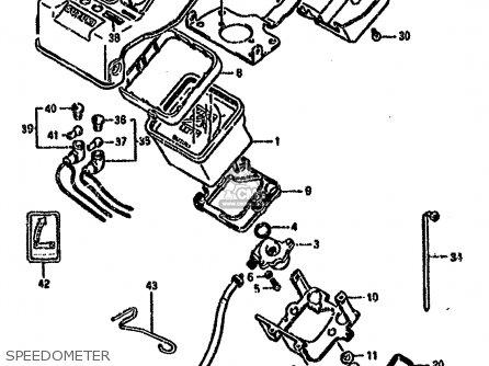 Suzuki Lt-f4 1994 wdr Speedometer