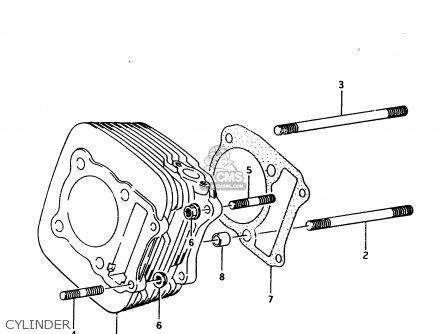 Suzuki Lt-f4 1996 wdt Cylinder