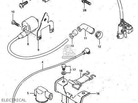 Suzuki Lt-f4 1997 wdxv Electrical