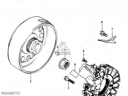 Suzuki Lt-f4 1997 wdxv Magneto
