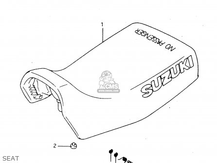 Suzuki Lt-f4 1997 wdxv Seat