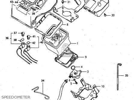Suzuki Lt-f4 1997 wdxv Speedometer