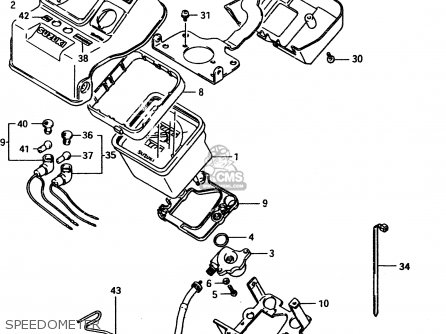 Suzuki Lt-f4 1998 wdw Speedometer