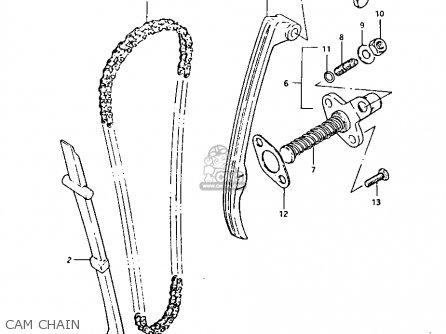 Suzuki Lt125 1984 e Cam Chain
