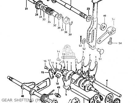 Suzuki Lt125 1984 e Gear Shifting model E