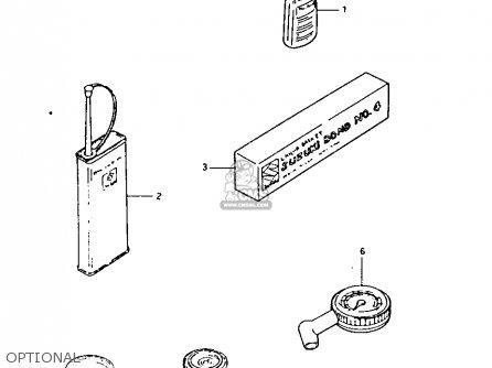 Suzuki Lt125 1984 e Optional