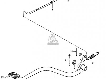 suzuki lt125 1985  f  parts list partsmanual partsfiche