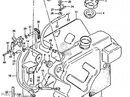Suzuki Lt125 Fuel Pump Diagram