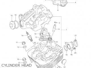 Suzuki LT160 QUAD RUNNER 2003 (K3) USA (E03) QUADRUNNER ...