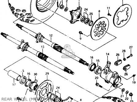 Suzuki Lt230e 1988 J Parts Lists And Schematics