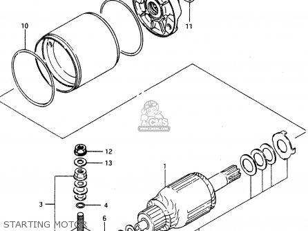 Suzuki Lt230e 1992 N Parts Lists And Schematics