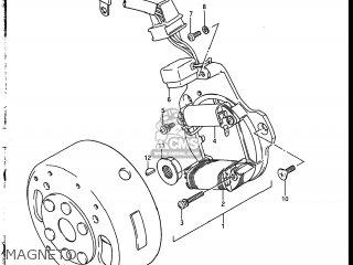 magneto wiring schematic with Suzuki Lt230 Wiring Schematic on 2 Stroke Engine Carburetor Cleaner furthermore Partslist together with Ts Wiring Diagram together with Partslist besides Inductive Sensor.