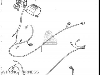 suzuki 230 wiring harness repair suzuki lt230s 1986 (g) usa (e03) parts list partsmanual ...